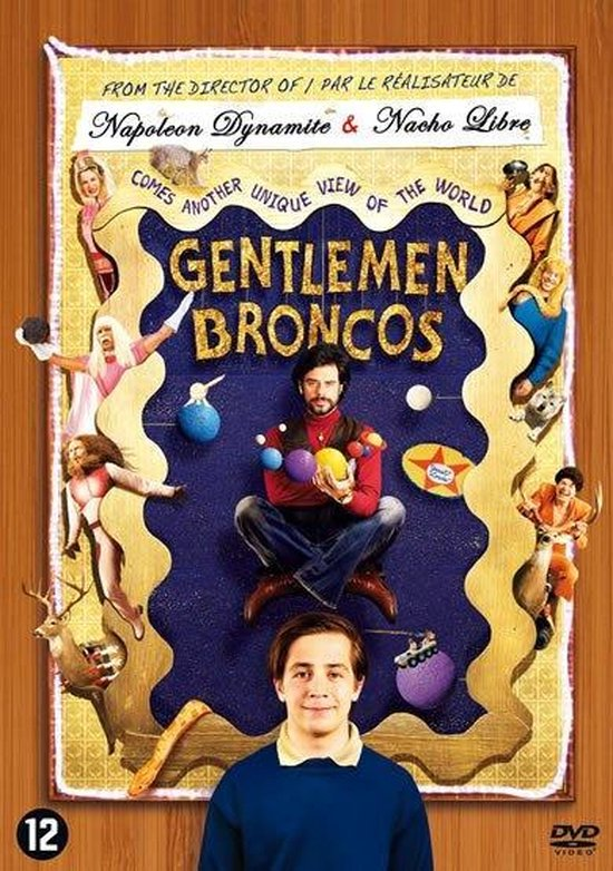 Cover van de film 'Gentlemen's Bronco's'