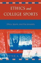 Boek cover Ethics and College Sports van Peter A. French