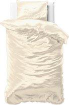 Sleeptime Beauty Skin Care Dekbedovertrek - Eenpersoons - 140x200/220 + 1 kussensloop 60x70 - Creme