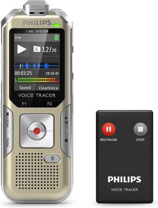 Philips  DVT6500 - Stereo PC Audio Recorder - Zilver