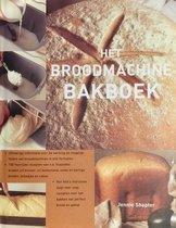 Boek cover Het Broodmachine Bakboek van Jennie Shapter (Hardcover)