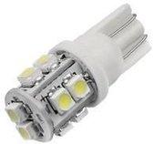 T10 W5W Witte 10-SMD LED 12v