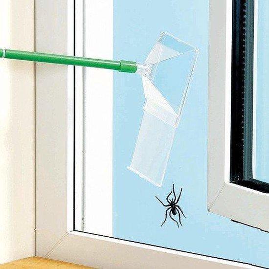 Spinnenvanger - Insectenvanger met schuifpaneel