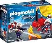 PLAYMOBIL City Action Brandweerteam met waterpomp - 9468