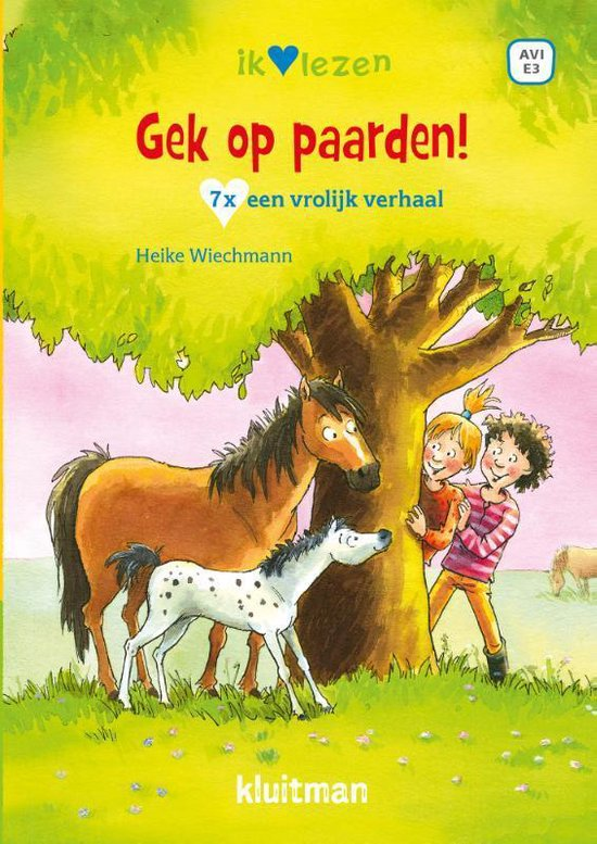 Afbeelding van Ik ♥ lezen - Gek op paarden