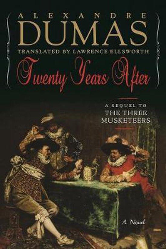 Boek cover Twenty Years After van Alexandre Dumas
