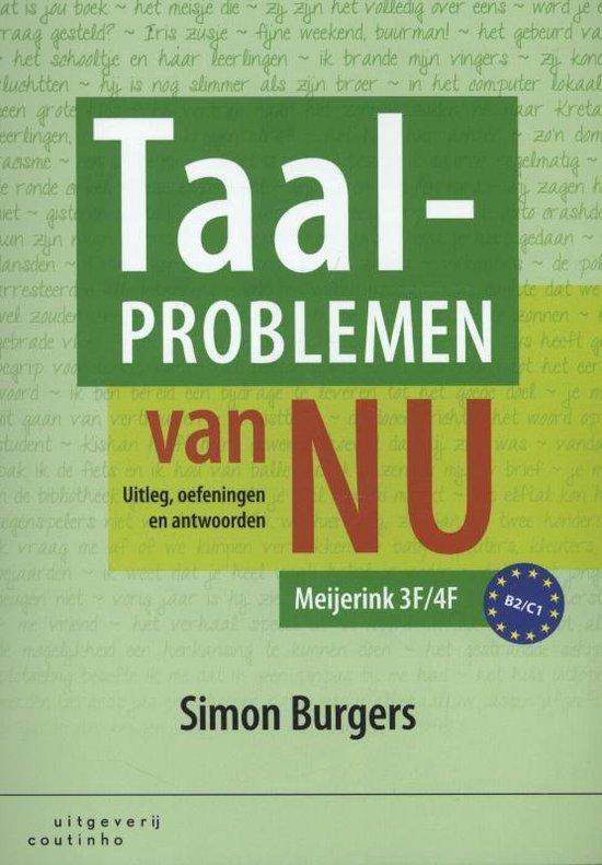 Taalproblemen van nu - Simon Burgers |