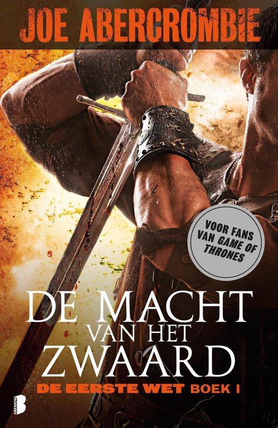 Cover van het boek 'De macht van het zwaard' van J. Abercrombie