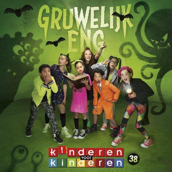 CD cover van Gruwelijk Eng! van Kinderen voor Kinderen