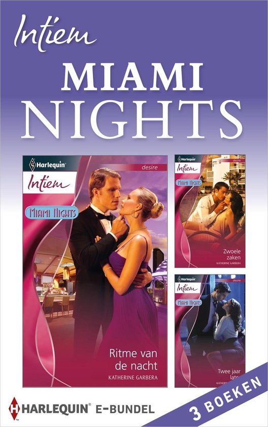 Intiem Bundel - Miami Nights (3-in-1) - Katherine Garbera |