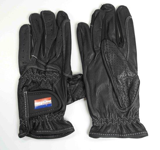 MaChique paardrijhandschoenen zwart leer maat XL HT5160