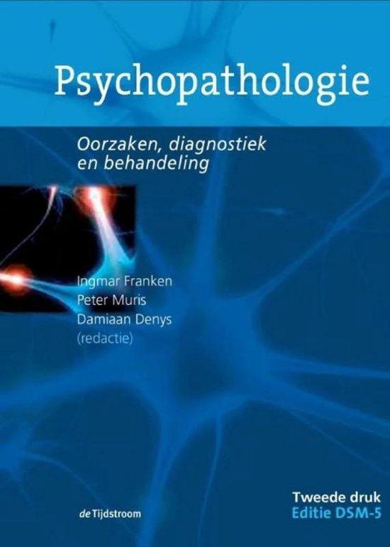 Boek cover Psychopathologie van Ingmar Franken (Paperback)