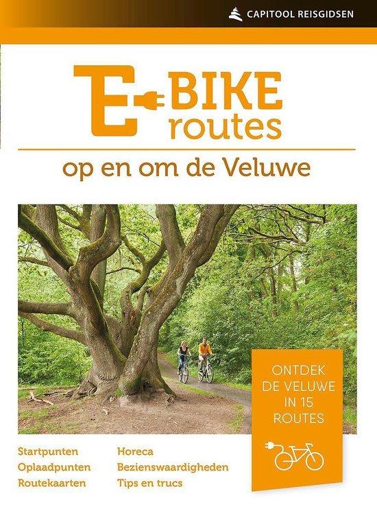 Capitool reisgidsen - E-bikeroutes op en om de Veluwe - Ad Snelderwaard |