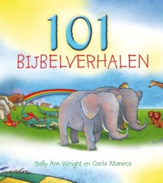 Cover van het boek '101 bijbelverhalen' van S.A. Wright