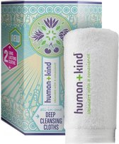 Human+Kind Deep Cleansing Cloth  (2 cloth in 1 pack ) Vegan