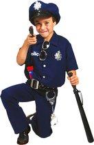 Verkleedpak politie agent jongen Good Cop 128 - Carnavalskleding