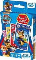 Paw Patrol - 4in1 - Speelkaarten (Kwartet, memo, snap, actie spel)