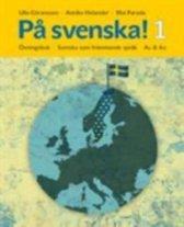 På svenska 1 övningsbok