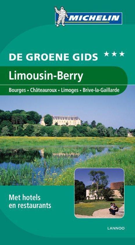 De Groene Reisgids - Limousin, Berry - Michelin  