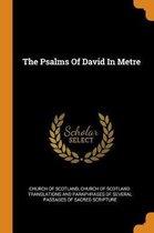 Boek cover The Psalms of David in Metre van Church Of Scotland