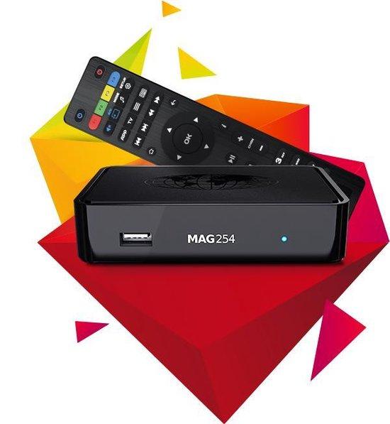Origineel infomir MAG 254 incl 1 maand GRATIS IPTV ( 4200+ TV zenders )