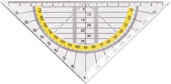 Afbeelding van Geodriehoek Flexibel - Onbreekbare Geodriehoek