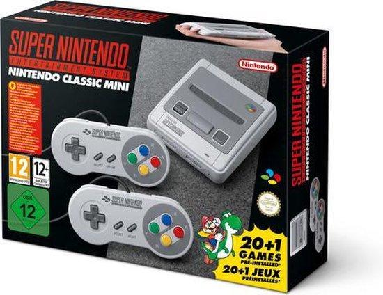Afbeelding van Nintendo Classic Mini (SNES) Super Nintendo Entertainment System