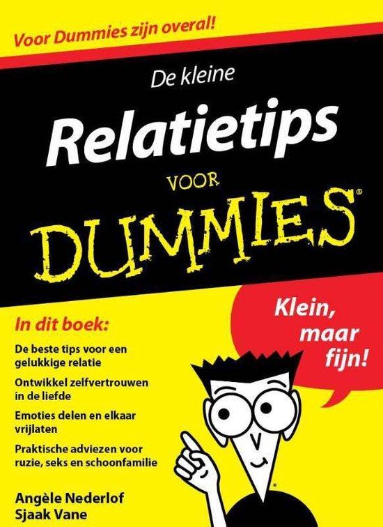Voor Dummies  -   De kleine relatietips voor dummies