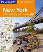 Boek cover POLYGLOTT Reiseführer New York zu Fuß entdecken van Chowanetz, Ken