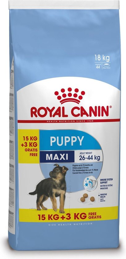 Royal Canin - Maxi Puppy - Hondenvoer - 15+3 kg
