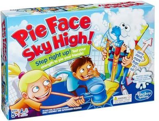 Afbeelding van het spel Pie Face Sky High - Gezelschapsspel