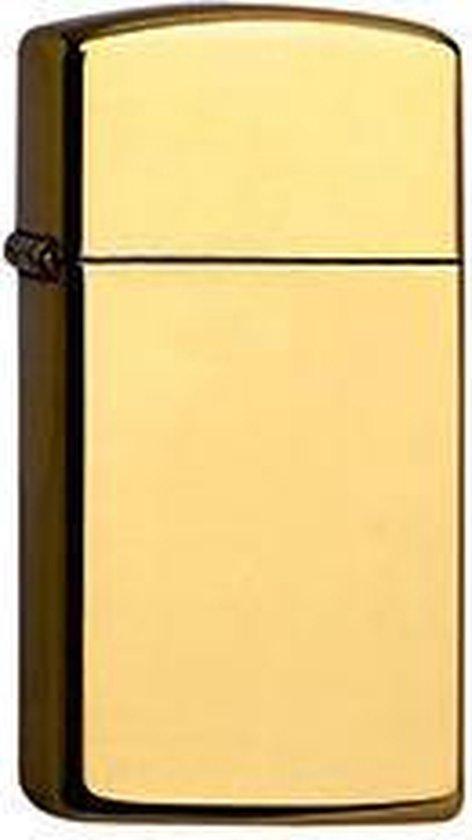 Aansteker Zippo Slim High Polish Brass