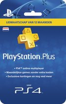 Nederlands Sony PlayStation Plus Abonnement 365 Dagen - PS4 + PS3 + PS Vita + PSN