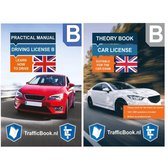 Auto Theorieboek Engels 2019 - Traffic Manual English Car Theory Book + Practical Book