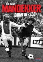Boek cover Mandekker van Johan Derksen