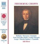 Chopin: Piano Music Vol.1