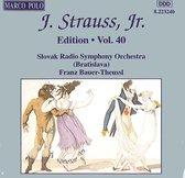 Strauss Jr. J.: Edition Vol.40