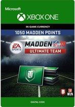 Madden NFL 18 - 1.050 Madden Ultimate Team Punten - Xbox One