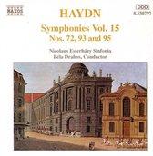 Haydn: Symphonies 72, 93 & 95