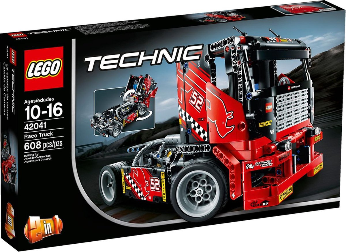 LEGO Technic 42041 Racetruck