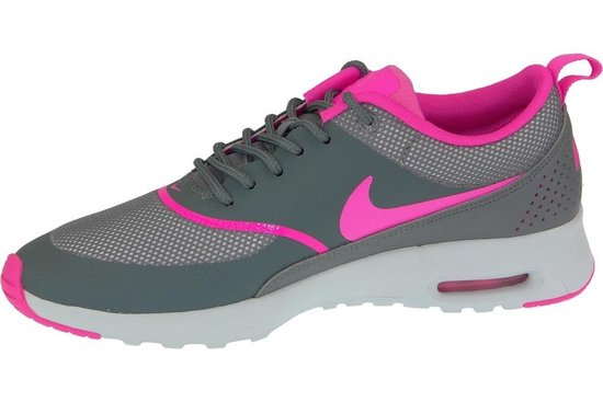 nike air max thea grijs roze