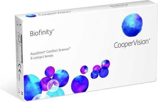 +0,25 Biofinity [6-pack] (maandlenzen) - contactlenzen