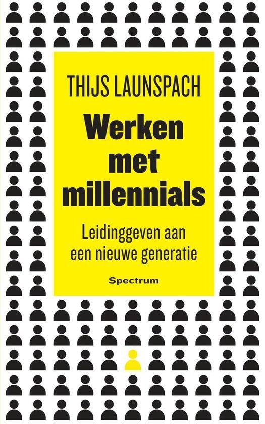 Boek cover Werken met millennials van Thijs Launspach (Onbekend)