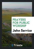 Prayers for Public Worship