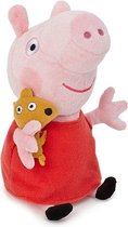 Peppa Pig Pluche Knuffel - Peppa 18cm