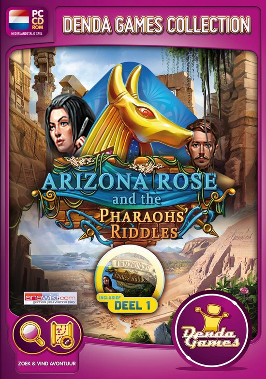 Arizona Rose and the Pharaohs Riddles (Collector's Edition) Incl. Arizona Rose Deel 1 – Windows