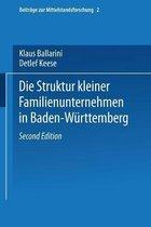 Die Struktur Kleiner Familienunternehmen in Baden-Wurttemberg