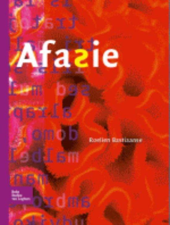 Afasie - Roelien Bastiaanse  