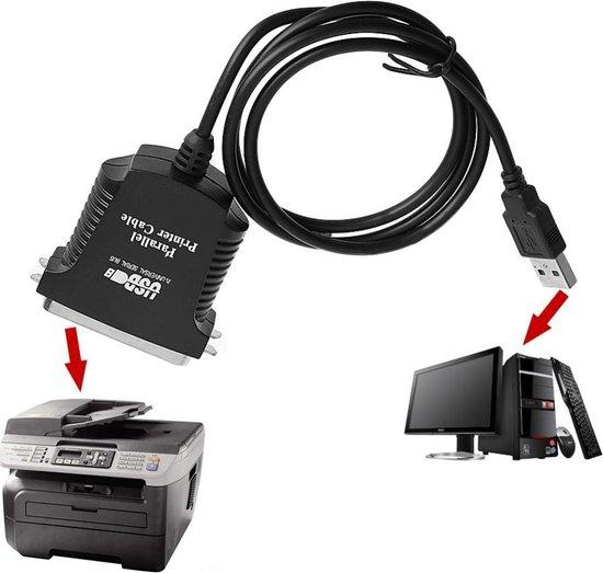 High-Speed USB 2.0 Naar 36-pins Parallel Printerkabel - 1 Meter