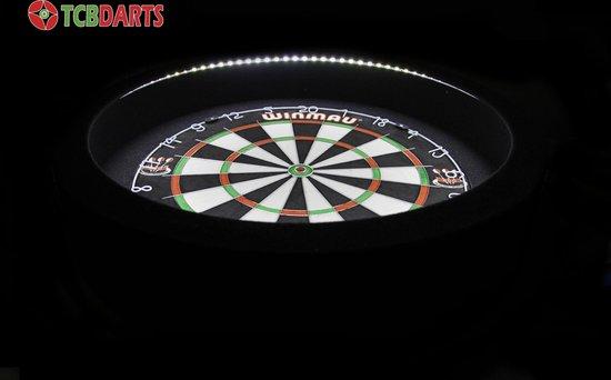 TCB X-Ray Led-verlichting surround Zwart - BEST Getest - dartbord verlichting - dartbord surround